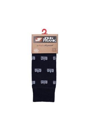 John Frank Erkek Çorap CTNJFLSEF0503 LACİVERT