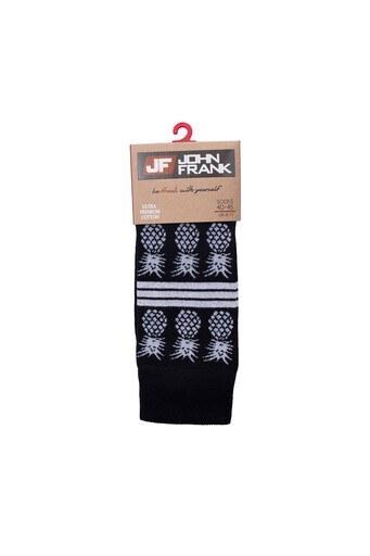 John Frank Erkek Çorap CTNJFLSMC0402 SİYAH
