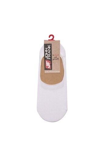 John Frank Erkek Çorap JFNS19S01 BEYAZ