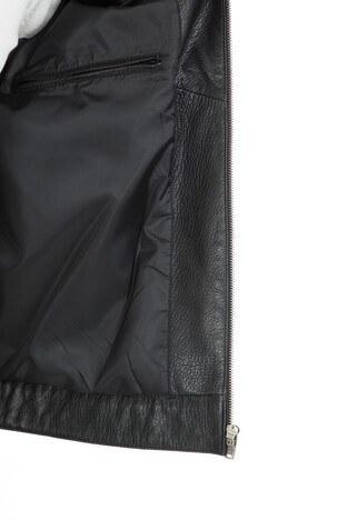 Karaca Hakiki Erkek Deri Ceket KRCD804 SİYAH