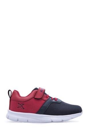 Kinetix - Kinetix Erkek Çocuk Ayakkabı ANKA LACİVERT-KIRMIZI