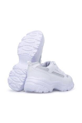 Kinetix Sneaker Bayan Ayakkabı PERI W BEYAZ-GÜMÜŞ