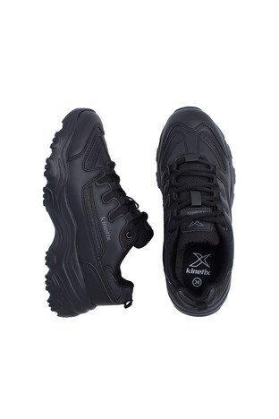 Kinetix Sneaker Bayan Ayakkabı PERI W SİYAH-KOYU GRİ