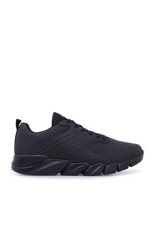 Kinetix - Kinetix Sneaker Erkek Ayakkabı HERON SİYAH-KOYU GRİ