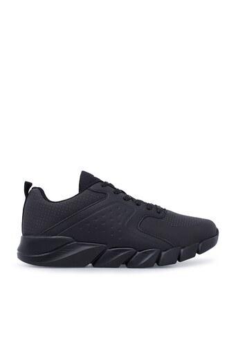 Kinetix Sneaker Erkek Ayakkabı HERON SİYAH-KOYU GRİ