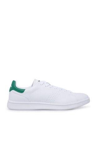 Kinetix - Kinetix Sneaker Erkek Ayakkabı PLAIN M BEYAZ-YEŞİL