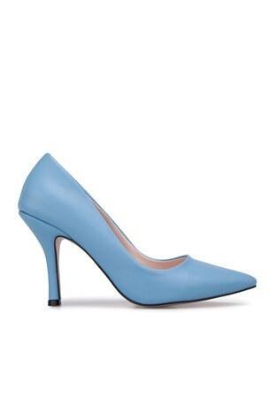 Kuum - Kuum Topuklu Bayan Ayakkabı K329806 BEBE MAVİ