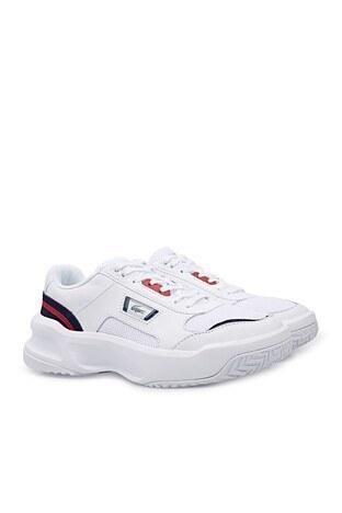 Lacoste Ace Lıft Erkek Ayakkabı 741SMA0068 407 BEYAZ-LACİVERT-KIRMI