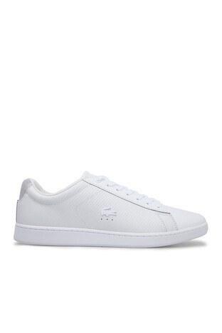Lacoste - Lacoste Carnaby Erkek Ayakkabı 7-38SMA004321G BEYAZ-BEYAZ