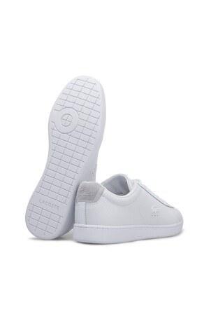 Lacoste Carnaby Erkek Ayakkabı 7-38SMA004321G BEYAZ-BEYAZ