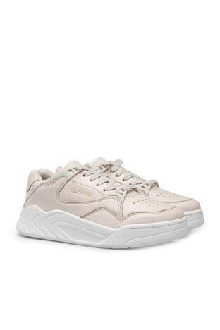 Lacoste Court Slam 0320 2 Sfa Deri Bayan Ayakkabı 740SFA0014 03A EKRU