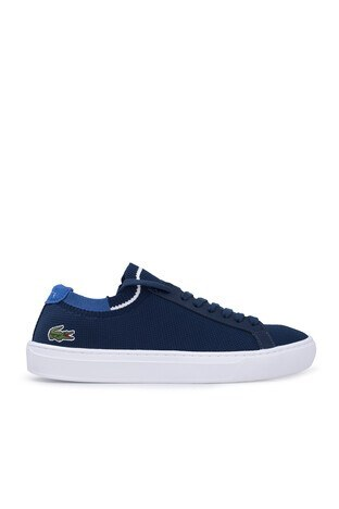 Lacoste - Lacoste La Piquee Erkek Ayakkabı 7-39CMA0023NV1 LACIVERT-MAVİ