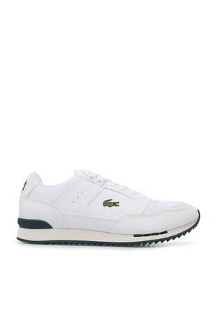 Lacoste - Lacoste Partner Piste 01201 Sma Erkek Ayakkabı 740SMA0025 1R5 BEYAZ