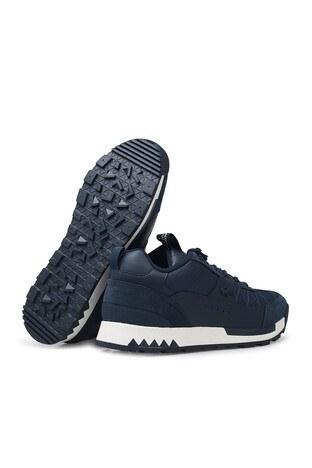 Lacoste Urban Breaker Lo 03201Cma Suya Dayanıklı Deri Erkek Ayakkabı 740CMA0003 J18 LACİVERT