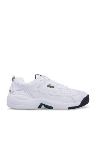 Lacoste - Lacoste V-Ultra Erkek Ayakkabı 739SMA0086 21G BEYAZ-BEYAZ