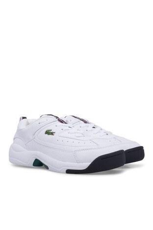 Lacoste V-Ultra Erkek Ayakkabı 739SMA0086 21G BEYAZ-BEYAZ