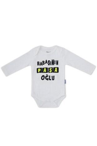 Le Ville % 100 Pamuk Yumuşak Erkek Bebek 3 Lü Bebek Takım 57414814 EKRU-SİYAH