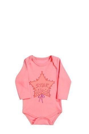 Le Ville % 100 Pamuk Yumuşak Kız Çocuk 3 Lü Bebek Takım 57415057 FUŞYA