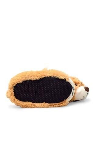 Le Ville Animal Kışlık Kız Çocuk Panduf H015P080 CAMEL
