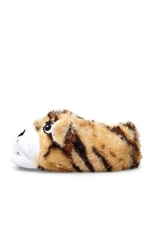 Le Ville Animal Kışlık Unisex Çocuk Panduf H016P138 CAMEL
