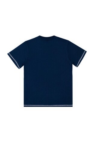 Le Ville Baskılı Bisiklet Yaka Erkek Çocuk T Shirt 57762231 LACİVERT
