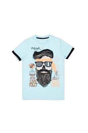 Le Ville Baskılı Bisiklet Yaka Erkek Çocuk T Shirt 57762291 MİNT