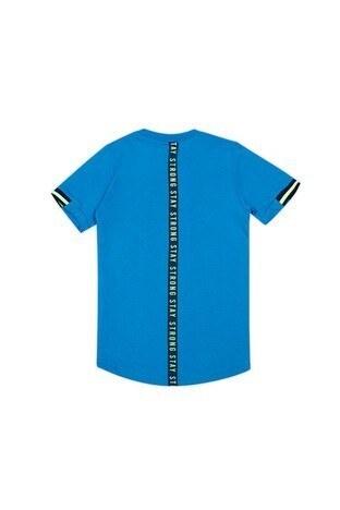 Le Ville Baskılı Bisiklet Yaka Erkek Çocuk T Shirt 57762401 MAVİ