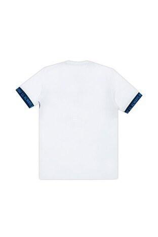Le Ville Baskılı Bisiklet Yaka Erkek Çocuk T Shirt 57762571 BEYAZ