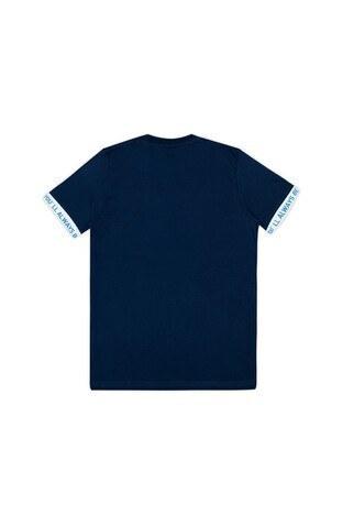 Le Ville Baskılı Bisiklet Yaka Erkek Çocuk T Shirt 57762571 LACİVERT