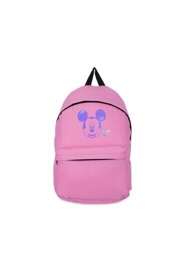 Le Ville Mickey Mouse Baskılı Kız Çocuk Okul Çantası 536CR8947A6 K PEMBE