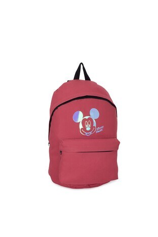 Le Ville Mickey Mouse Baskılı Unisex Çocuk Okul Çantası 536CR8946A6 KİREMİT