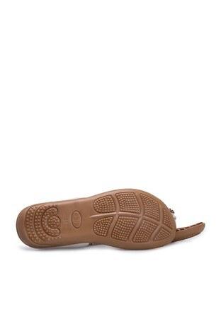 Le Ville Taş Detaylı Kız Çocuk Sandalet 38920Y1533 BEYAZ