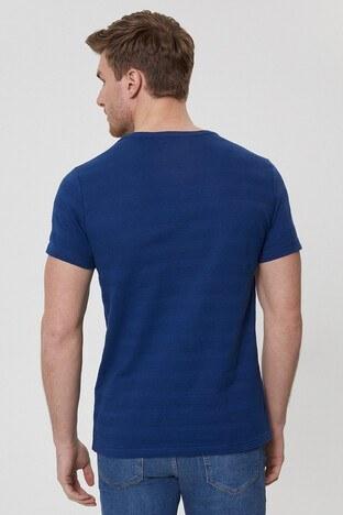 Lee Cooper Erkek T Shirt 212 LCM 242021 2108 KOYU MAVİ