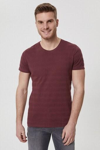 Lee Cooper Erkek T Shirt 212 LCM 242021 3853 KOYU GÜL