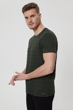 Lee Cooper Erkek T Shirt 212 LCM 242021 5201 HAKİ
