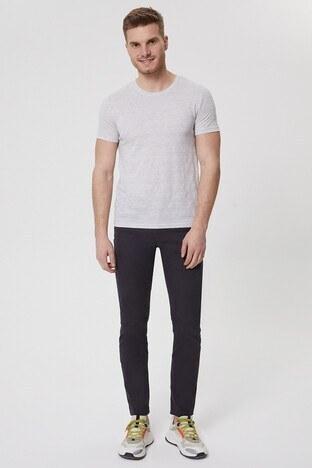 Lee Cooper Erkek T Shirt 212 LCM 242021 7201 GRİ MELANJ
