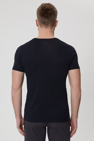 Lee Cooper Erkek T Shirt 212 LCM 242027 8101 SİYAH