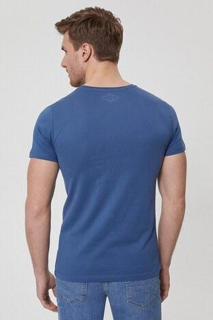 Lee Cooper Erkek T Shirt 212 LCM 242033 2601 İNDİGO