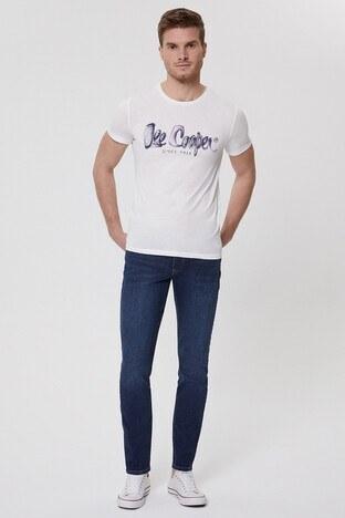 Lee Cooper Erkek T Shirt 212 LCM 242040 1108 KIRIK BEYAZ