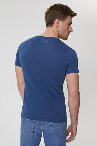 Lee Cooper Erkek T Shirt 212 LCM 242040 2601 İNDİGO