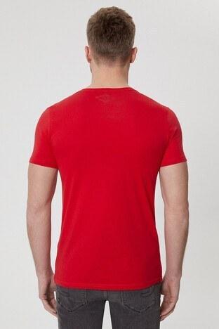Lee Cooper Erkek T Shirt 212 LCM 242040 3101 KIRMIZI