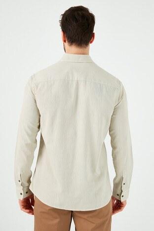 Lee Cooper Erkek Gömlek 212 LCM 241007 1201 BEJ