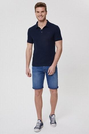 Lee Cooper T Shirt Erkek Polo 212 LCM 242024 2501 LACİVERT