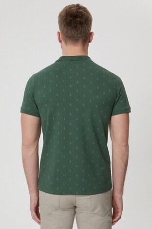 Lee Cooper T Shirt Erkek Polo 212 LCM 242043 2142 KOYU YEŞİL