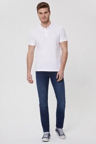 Lee Cooper T Shirt Erkek Polo 212 LCM 242044 1101 BEYAZ