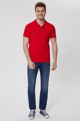 Lee Cooper T Shirt Erkek Polo 212 LCM 242044 3129 KIRMIZI