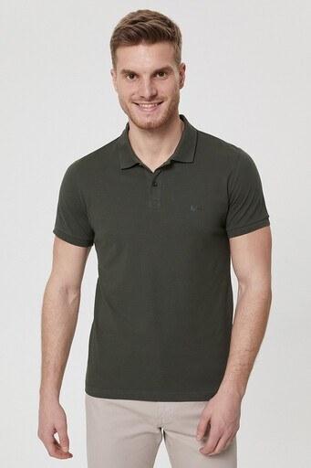 Lee Cooper T Shirt Erkek Polo 212 LCM 242044 9220 OLİVE