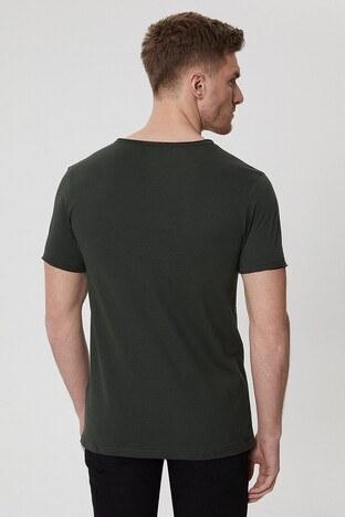 Lee Cooper Erkek T Shirt 212 LCM 242022 2142 KOYU YEŞİL