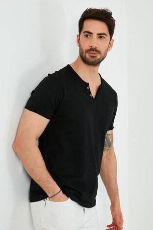 Lee Cooper Erkek T Shirt 212 LCM 242022 8101 SİYAH
