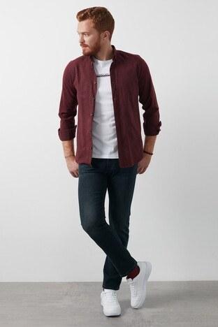 Lee Cooper Düz Kesim Pamuklu Harry Jeans Erkek Kot Pantolon 211 LCM 121003 DN1365 KOYU LACIVERT